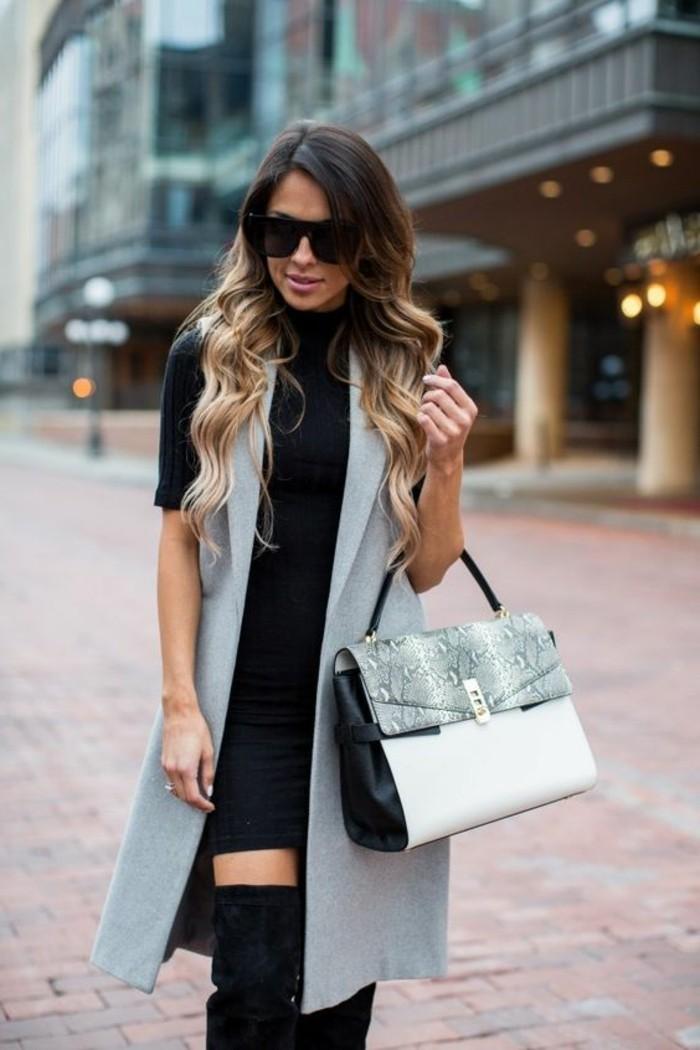cool-tenue-veste-sans-manche-veste-legere-bottes-longues