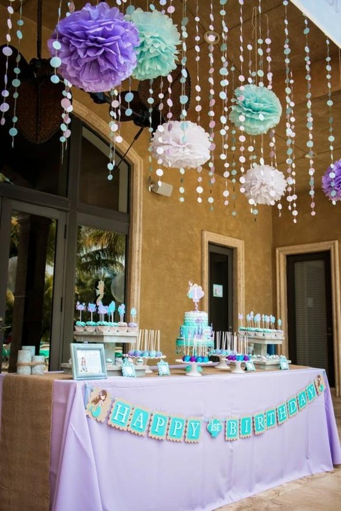 décoration-coloriage-petite-sirene-party-table-Ariel-la-petite-sirène