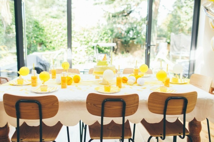 décoration-d-anniversaire-les-meilleures-idées-deco-jaune