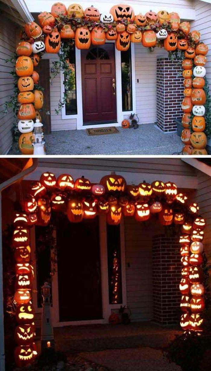 décoration-halloween-a-fabriquer--déco-halloween-déguisement halloween
