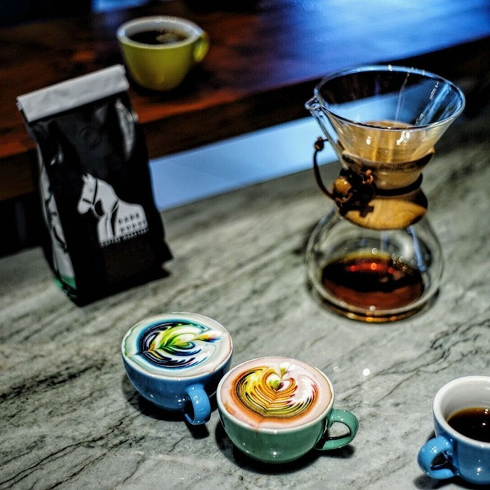 décorer-votre-café-machine-cappuccino-magnifique