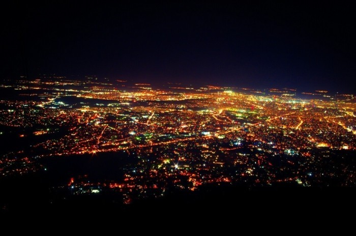 de-l-haut-vue-soirée-visiter-sofia-que-visiter-en-bulgarie