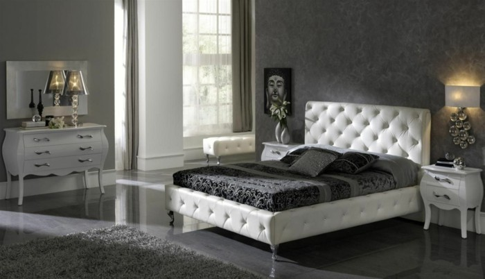 deco-chambre-noir-et-blanc-chambre-noire-et-blanche-décoration-chambre-adulte-