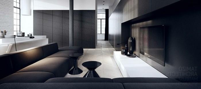 Deco chambre noire et blanche id es de d coration et de for Idee deco chambre noir et blanc