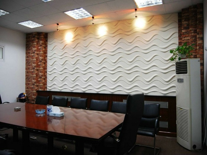 decoration-avec-panneau-decoratif-couleur-blanc-comment-decorer-les-murs