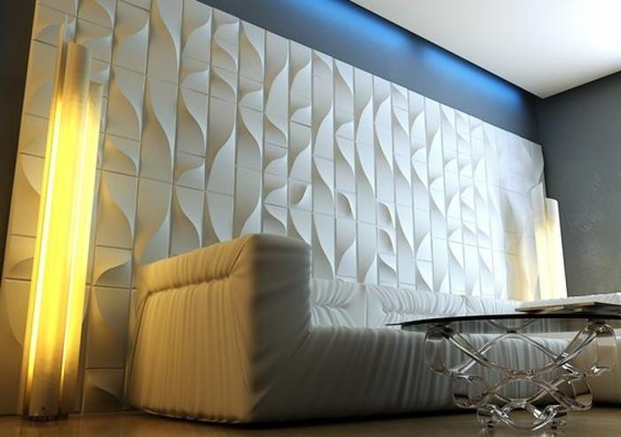 decoration-salon-avec-panneau-décoratif-blanc-comment-decorer-le-salon-meubles-beiges