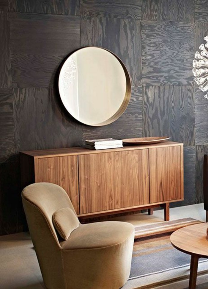 decoration-salon-beige-revetement-mural-pannaux-decoratifs-meubles-beiges-modernes