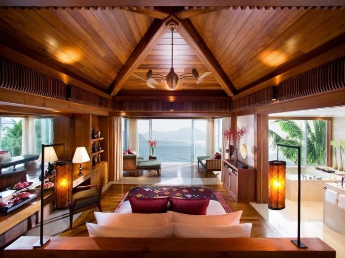 Design d 39 int rieur avec meubles exotiques 80 id e for Meuble colonial