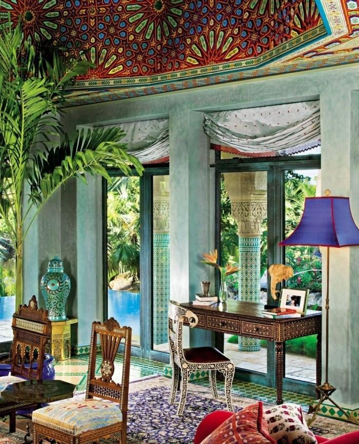 Design d 39 int rieur avec meubles exotiques 80 id e magnifiques - Meubles style colonial ...
