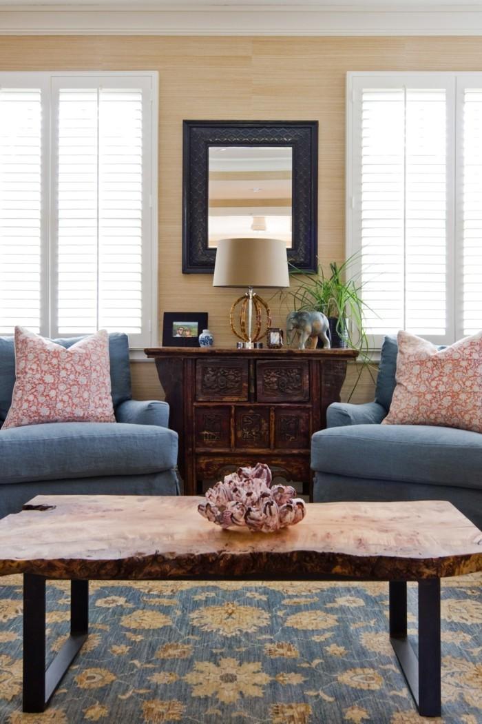 Design d 39 int rieur avec meubles exotiques 80 id e magnifiques archzi - Meuble bois exotique ...