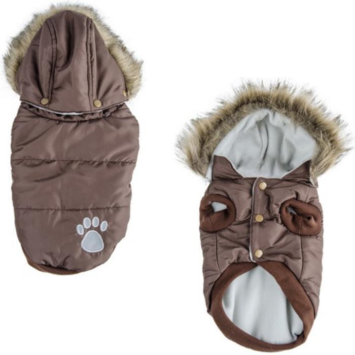 doudoune-pour-chien-capuche-fourrure-manteau-pour-petit-chien