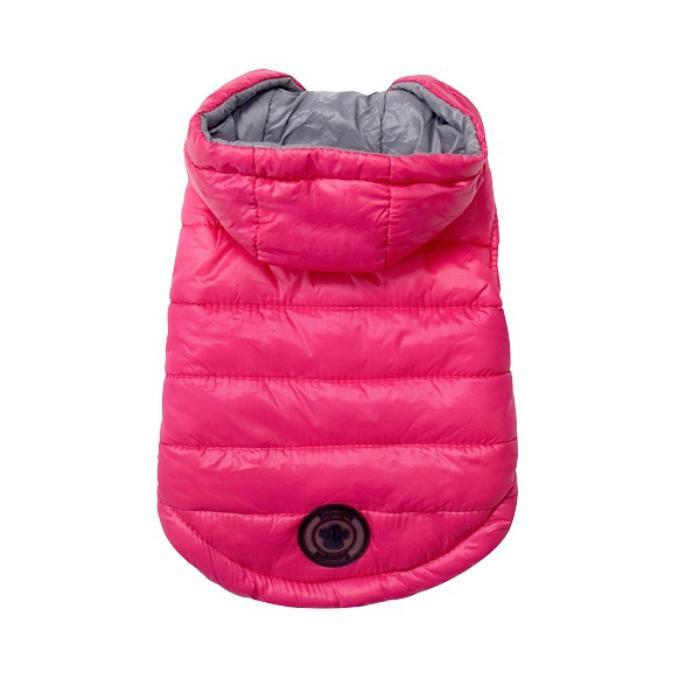 doudoune-pour-chien-imperméable-rose-et-gris-vêtement-de-chien-chaud