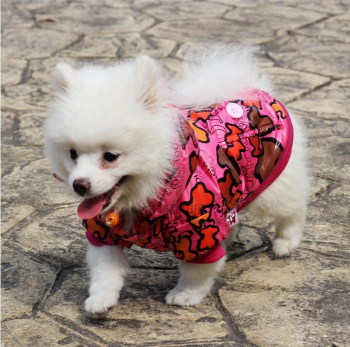doudoune-pour-chien-rouge-manteaux-et-imperméables-chiens