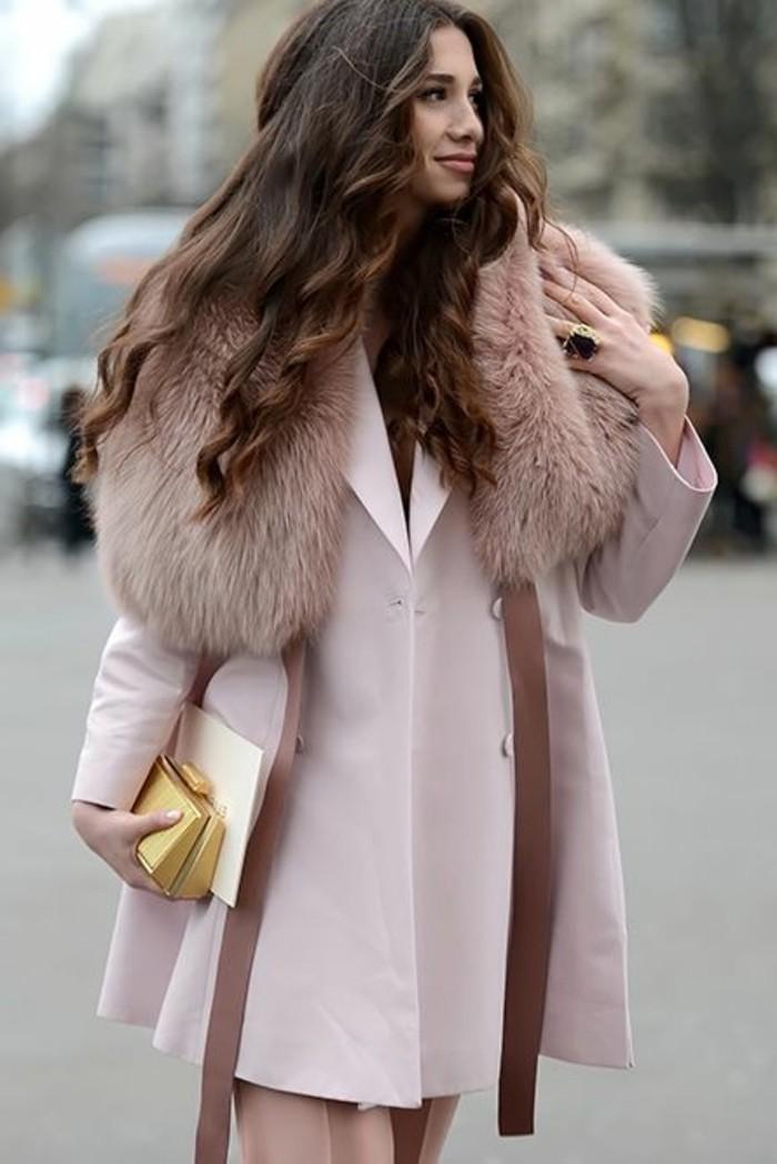 elegant-manteua-rose-design-femme-collection-printemps-été-2016-femme