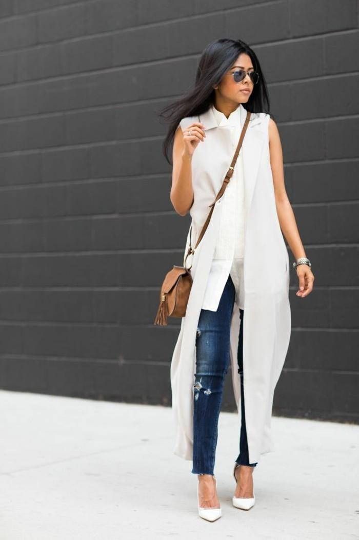 en-blanc-cool-tenue-veste-sans-manche-veste-legere