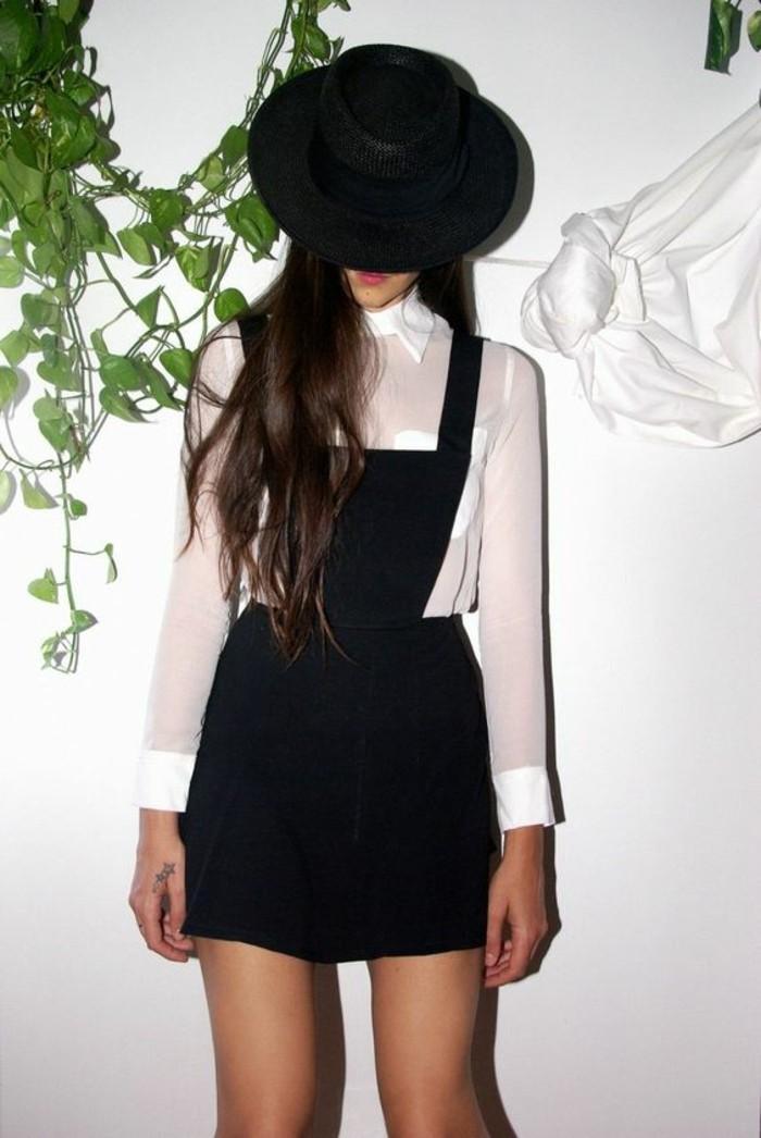en-noir-et-blanc-zara-robe-en-salopette-femme-bohème-chic