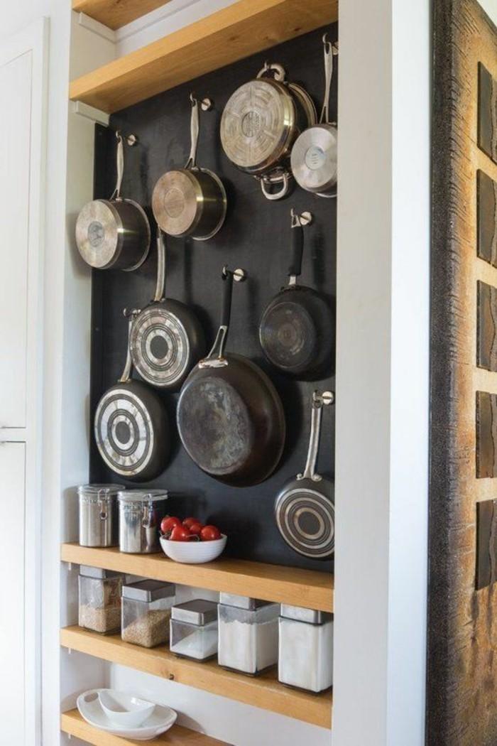 Le rangement mural comment organiser bien la cuisine - Idee rangement cuisine ...