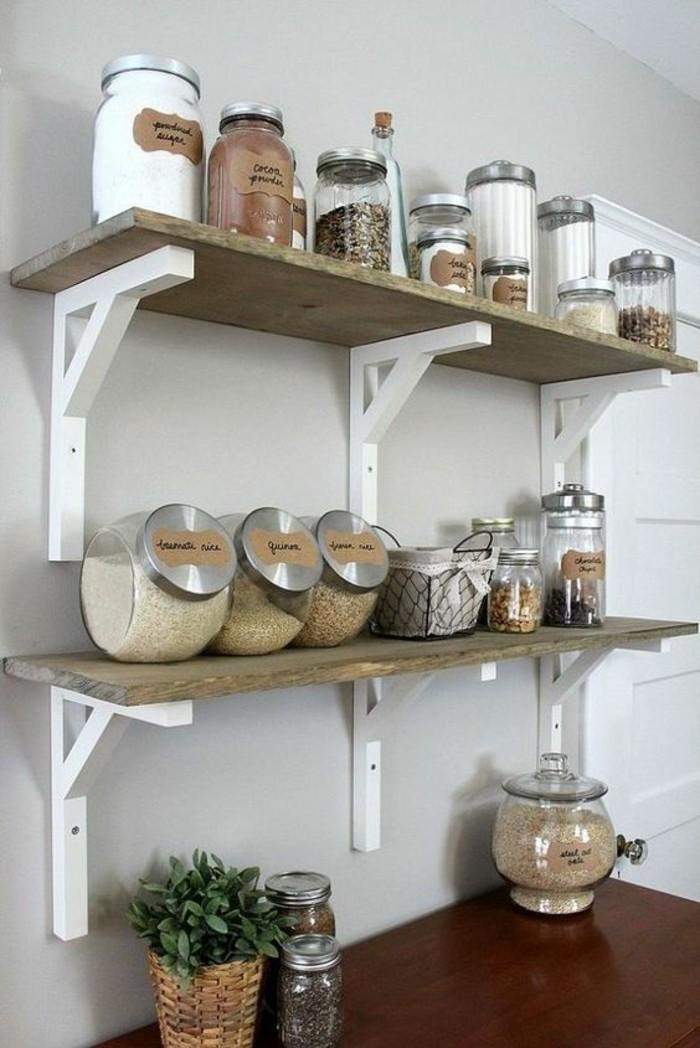 fabulous pour ranger les batteries de cuisine avec etagere. Black Bedroom Furniture Sets. Home Design Ideas