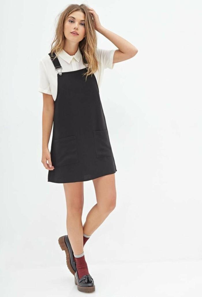 comment porter la robe salopette les meilleures id es de tenues. Black Bedroom Furniture Sets. Home Design Ideas