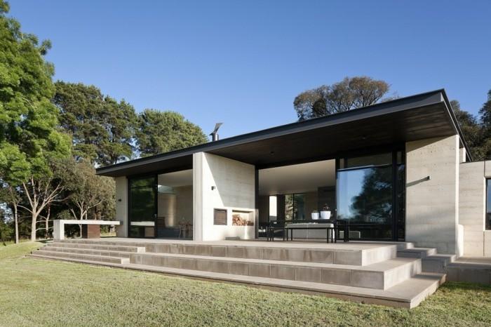 Vous tes int ress s par une maison toit plat 84 exemples pour votre inspiration for Prix maison contemporaine