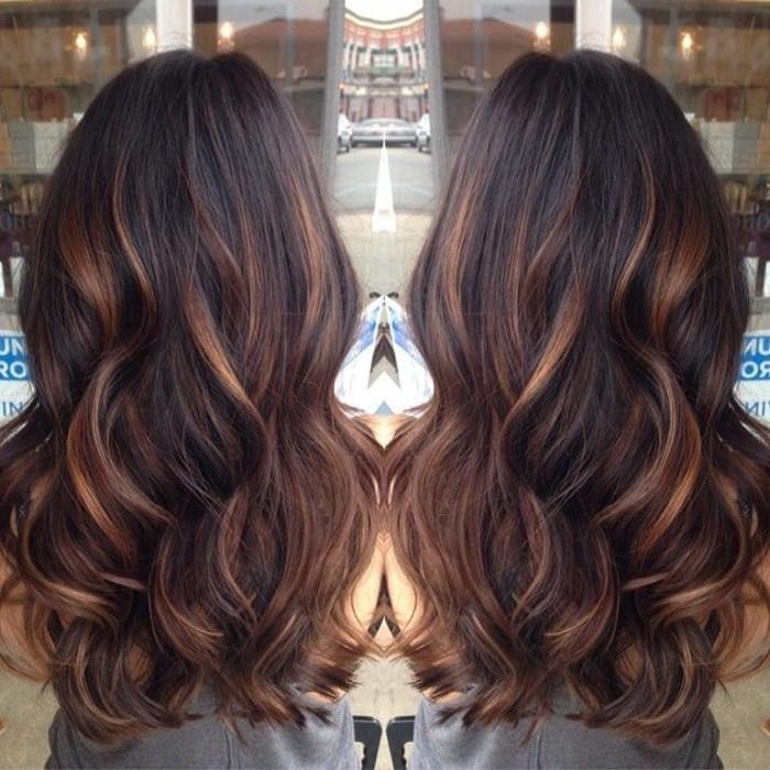Favori Balayage blond ou caramel pour vos cheveux châtains - Archzine.fr YL96