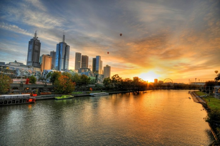 fantastique-fond-d-écran-paysage-lever-et-coucher-du-soleil