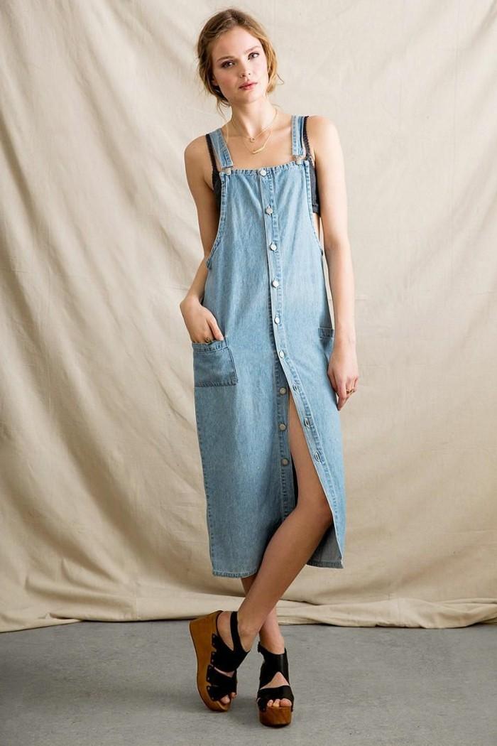 fantastique-idée-tenue-salopette-robe-forme-salopette-jean-longue