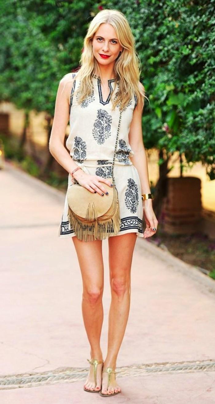 fantastique-tenue-de-plage-femme-bohème-chic-style-blanc