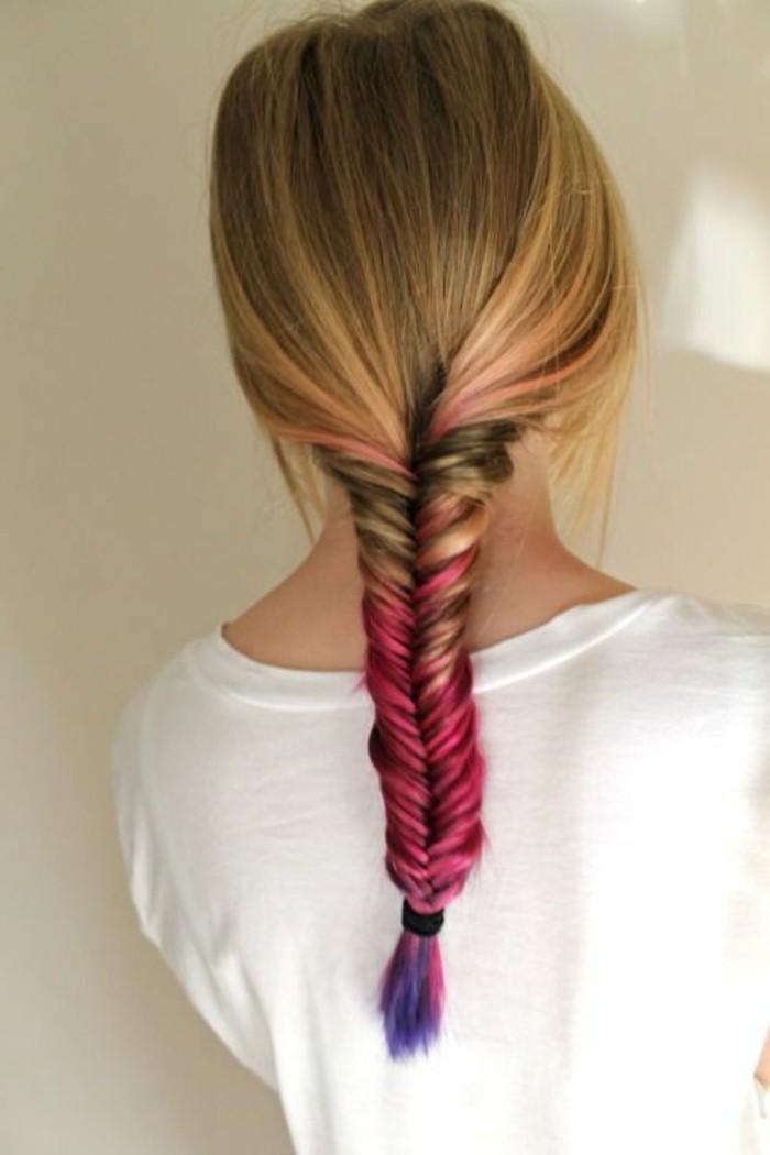 fish-tail-avec-cheveux-colorés-tutoriel-cheveux-colorés-tuto-coiffure-facile