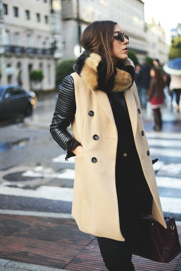 formidable-gilet-long-sans-manche-femme-à-la-mode-admirable