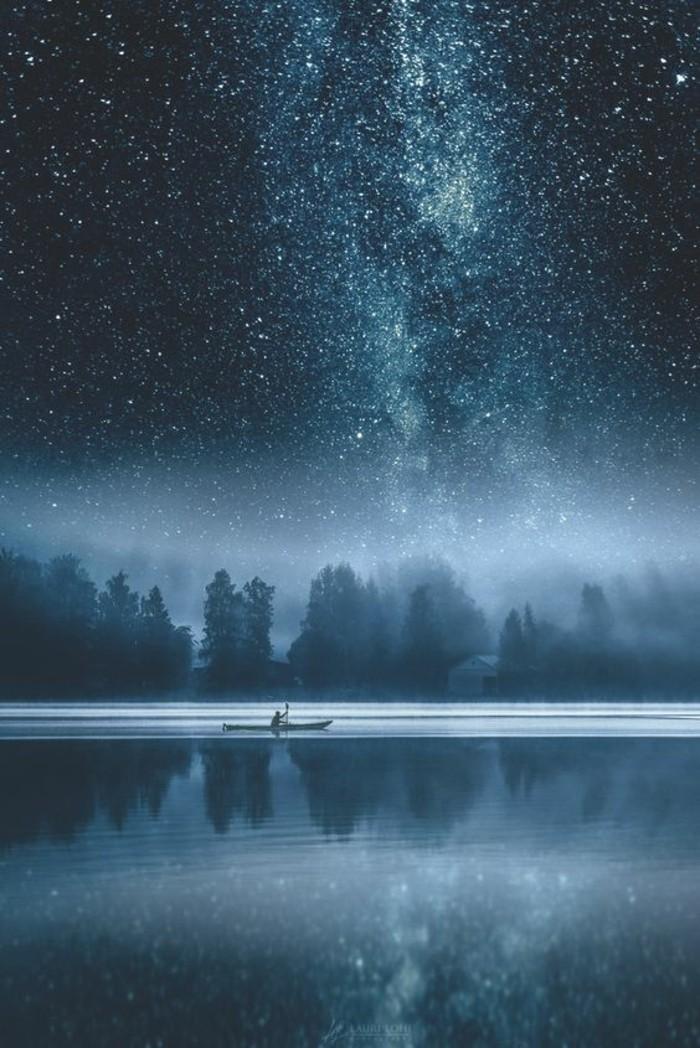formidable-idée-lumineuse-photo-lac-étoiles