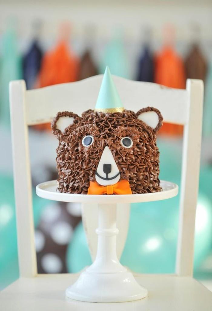 gateau-d-anniversaire-enfant-personnalisé-idée-originale-ourson