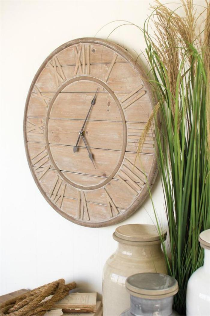 Horloge murale design quebec - Grande decoration murale ...