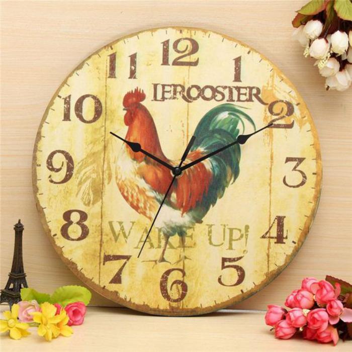 grande-horloge-murale-décoration-avec-horloge-vintage