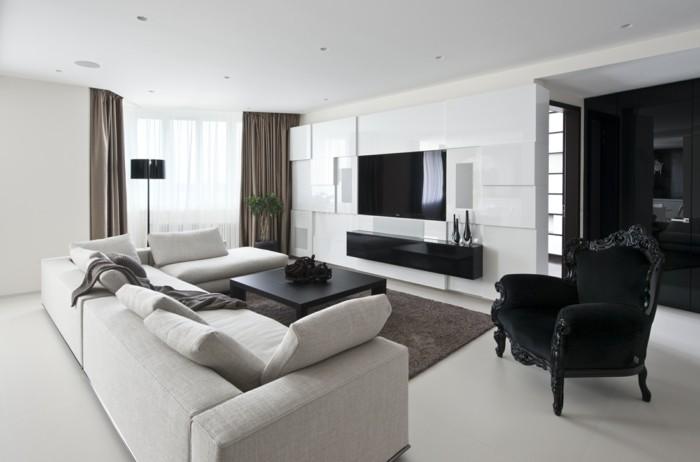 idée-déco-chambre-adulte-chambre-noire-et-blanche