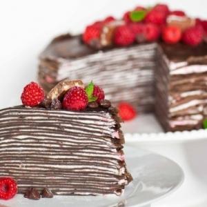 Le gâteau de crêpes - 50 idées magnifiques!