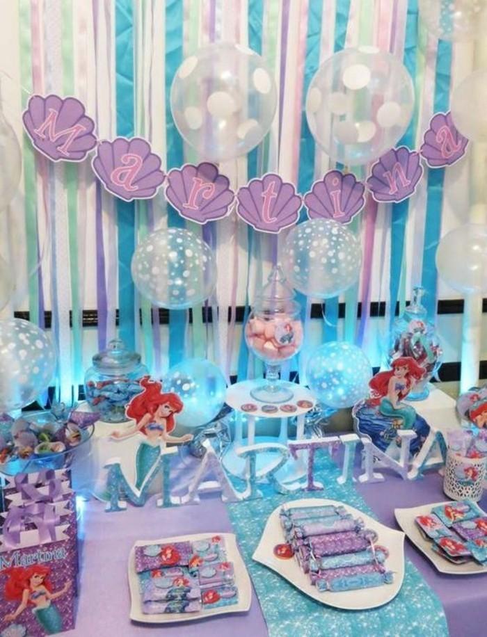 idée-la-petite-sirène-disney-anniversaire-gâteau-petite-sirène-ariel-la-petite-sirene-coloriage