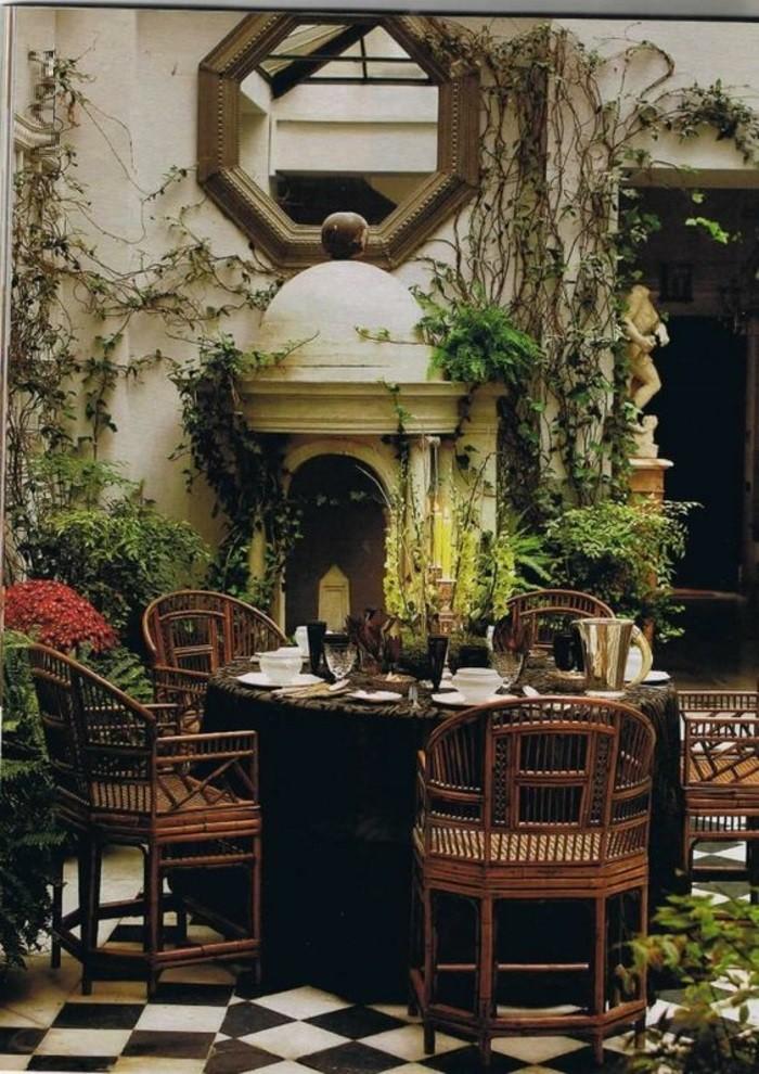 idée-meuble-exotique-maison-style-colonial-intérieur