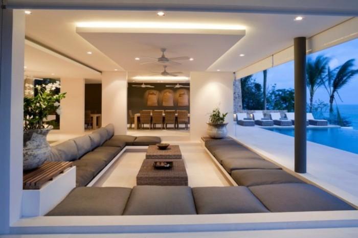 Idée meuble tv bois exotique meuble tv exotique