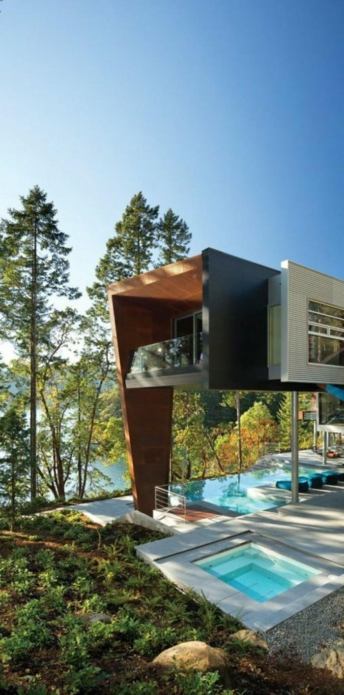 Interieur Maison Bois Contemporaine : interieur-maison-contemporaine-maison-contemporaine-bois