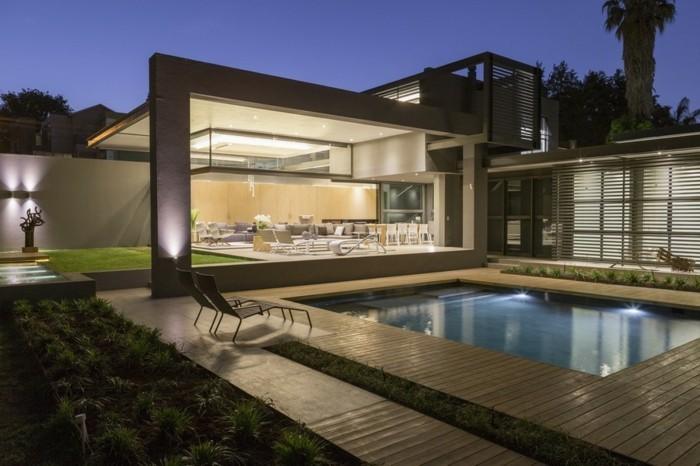 vous tes int ress s par une maison toit plat 84 exemples pour votre inspiration. Black Bedroom Furniture Sets. Home Design Ideas
