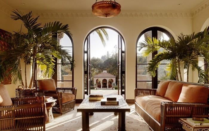 Design d 39 int rieur avec meubles exotiques 80 id e magnifiques archzi - Meubles en bois exotique ...