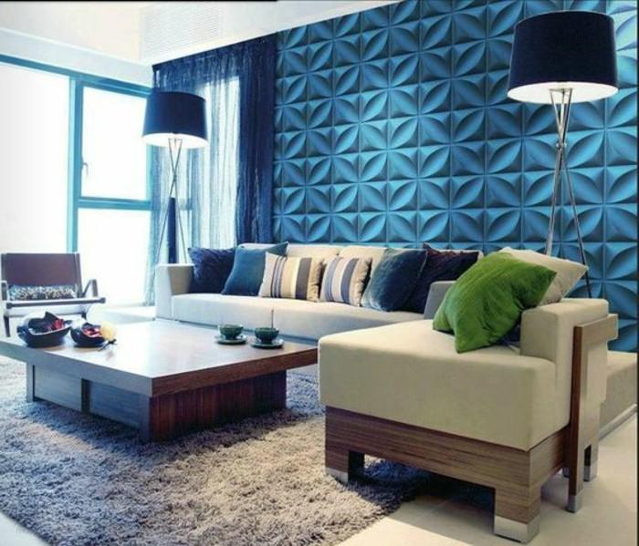 joli-salon-avec-revetement-mural-en-paneau-mural-decoratif-bleu