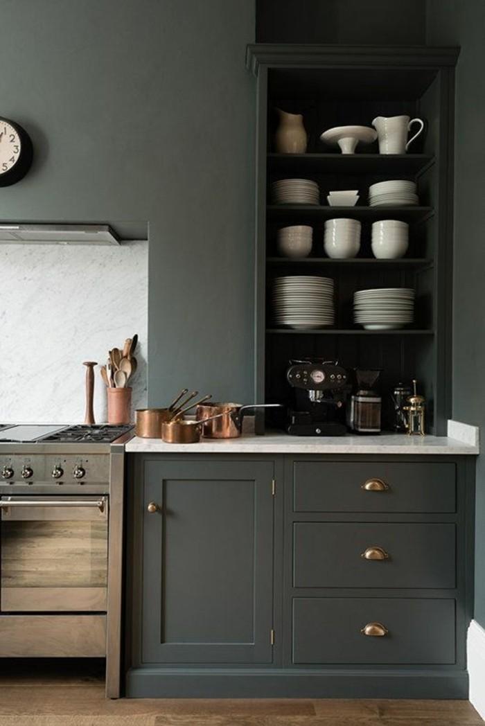 leroy merlin cuisine topaze gris cuisine en bois de couleur gris - Leroy Merlin Cuisine Moderne Gris Fance