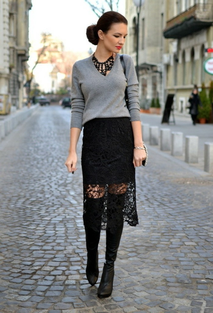 jupe-dentelle-noire-pour-un-look-gothique-glam-resized