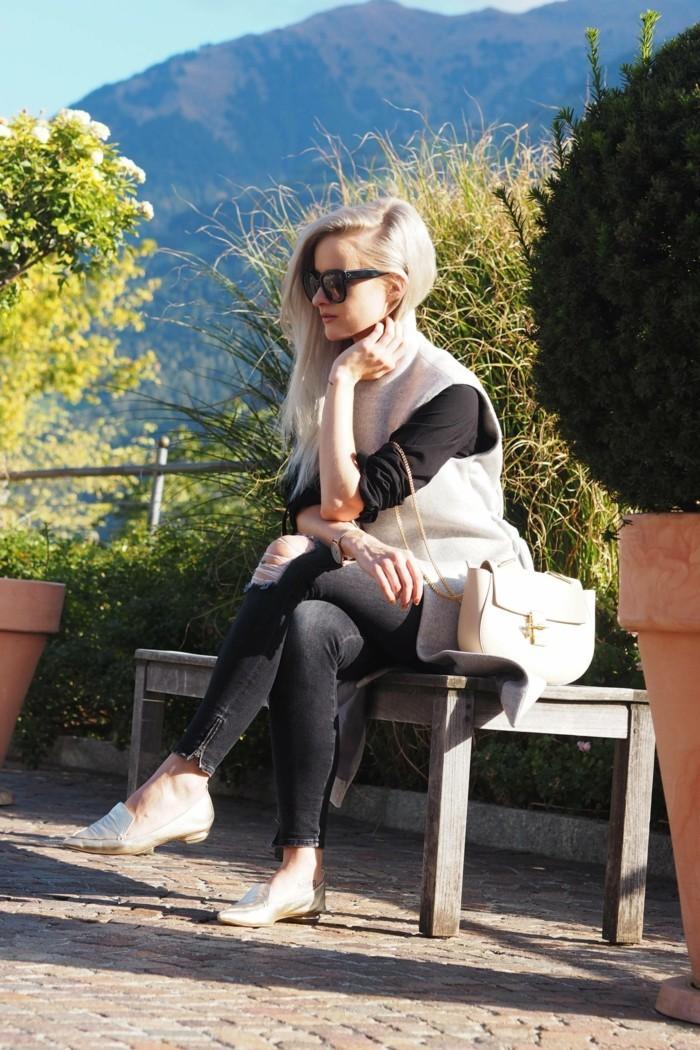 la-belle-femme-manteau-sans-manche-gilets-sans-manches