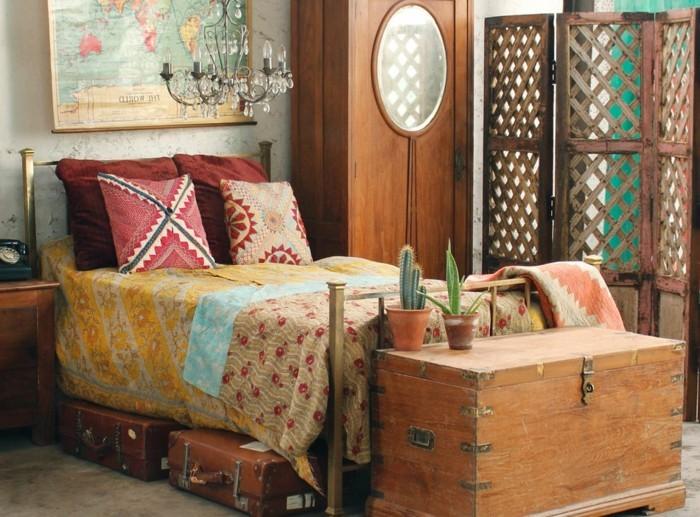 Meuble chambre bois exotique for Meuble exotique