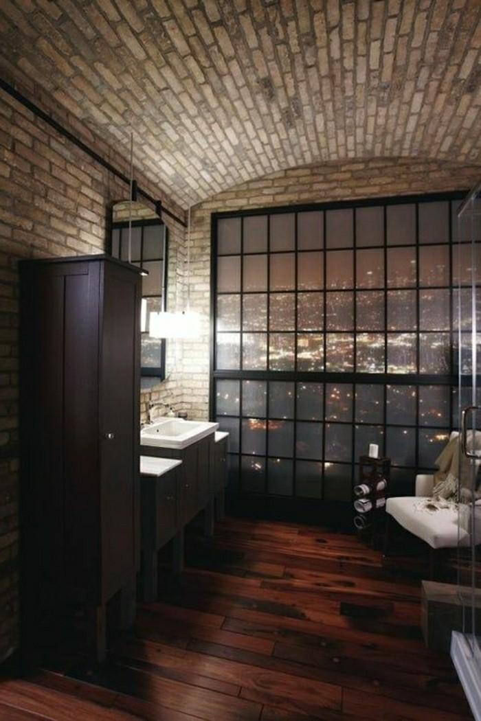 salle de bain parement. Black Bedroom Furniture Sets. Home Design Ideas