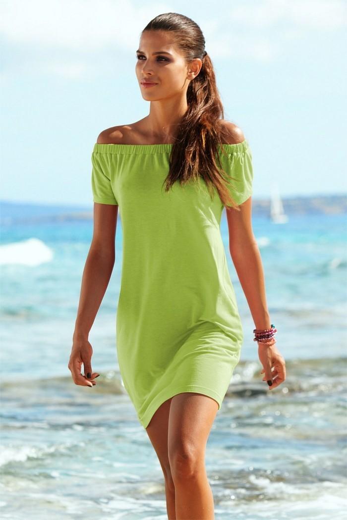 la-robe-longue-de-plage-robe-de-plage-blanche-bohème-vert
