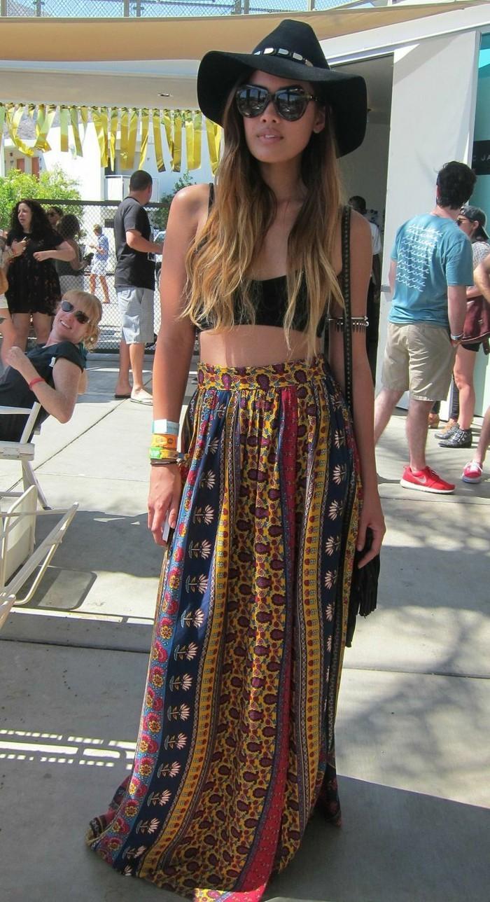 le-festival-musique-jupe-longue-et-top-vetement-plage-tunique-de-plage-femme-stylée